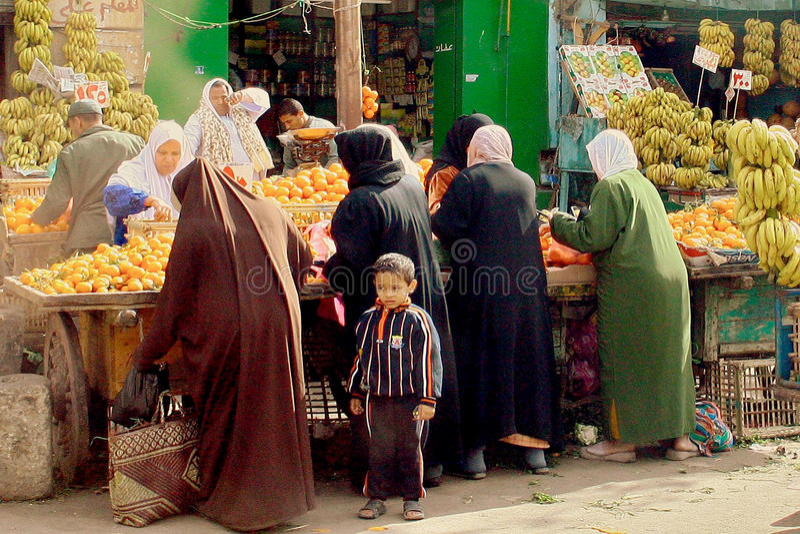 Έλξη του Καίρου Αίγυπτος, Αφρική στοκ εικόνα