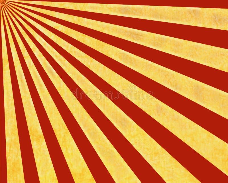 ήλιος ακτίνων ανασκόπηση&sigmaf ελεύθερη απεικόνιση δικαιώματος