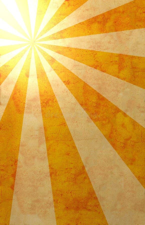 ήλιος ακτίνων εγγράφου ελεύθερη απεικόνιση δικαιώματος