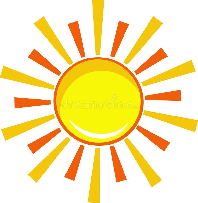 ήλιος εικονιδίων απεικόνιση αποθεμάτων