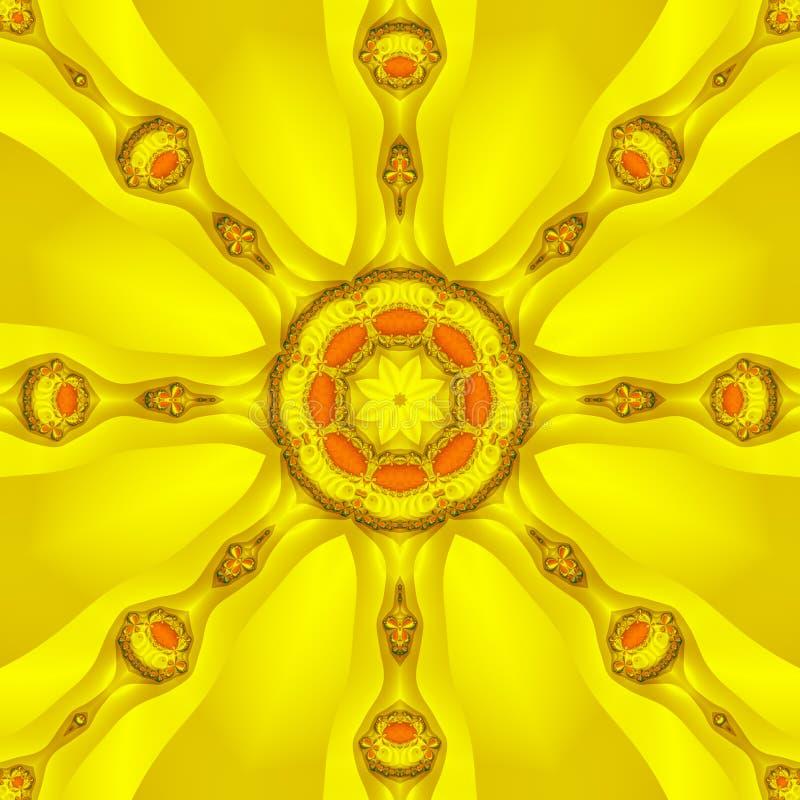 ήλιος καλειδοσκόπιων διανυσματική απεικόνιση