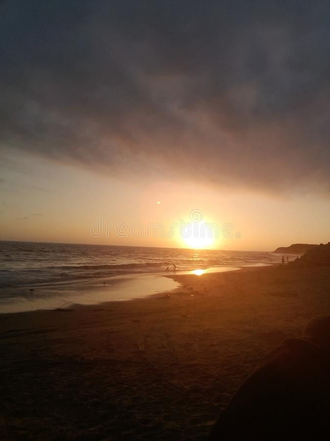 Ήλιος καληνύχτας στοκ εικόνα με δικαίωμα ελεύθερης χρήσης