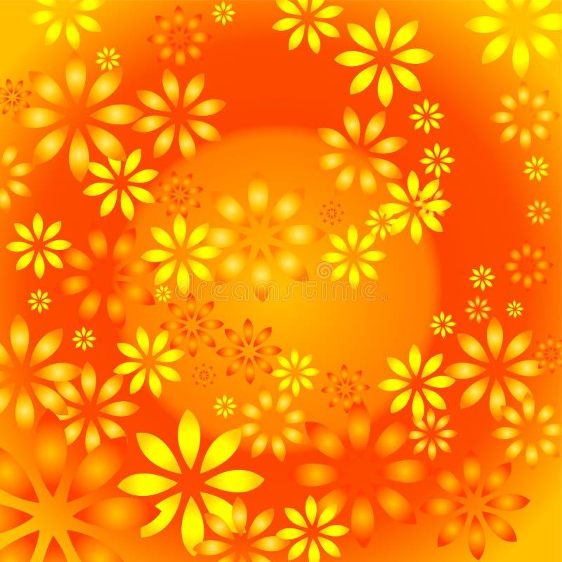 ήλιος λουλουδιών ελεύθερη απεικόνιση δικαιώματος