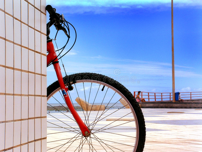 ήλιος ποδηλάτων στοκ φωτογραφίες