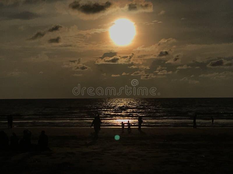 Ήλιος στην παραλία στοκ φωτογραφία με δικαίωμα ελεύθερης χρήσης