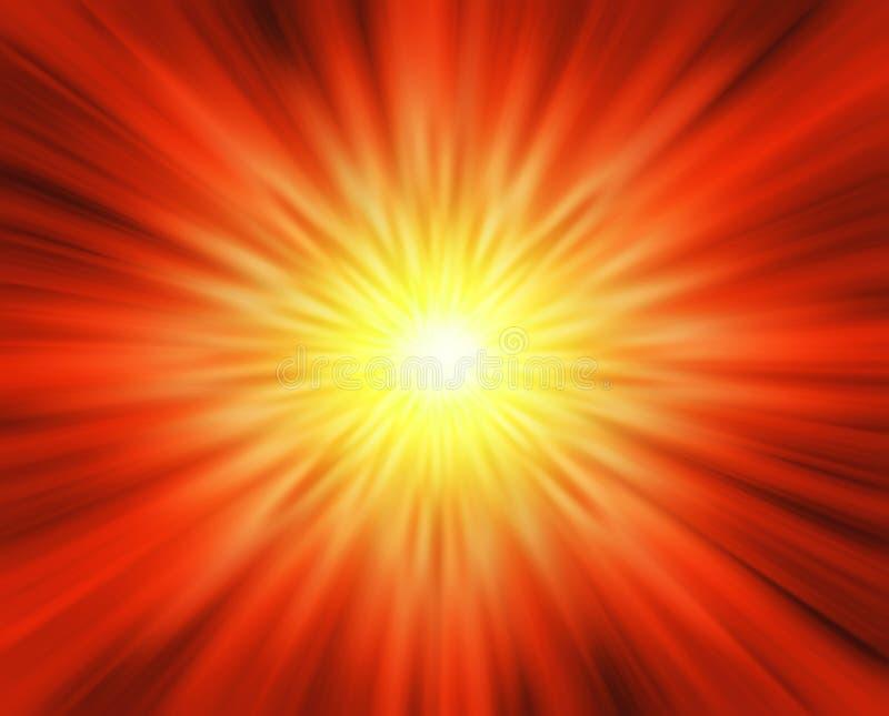 ήλιος φυσήματος απεικόνιση αποθεμάτων