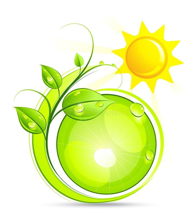 ήλιος φυτών απεικόνισης διανυσματική απεικόνιση