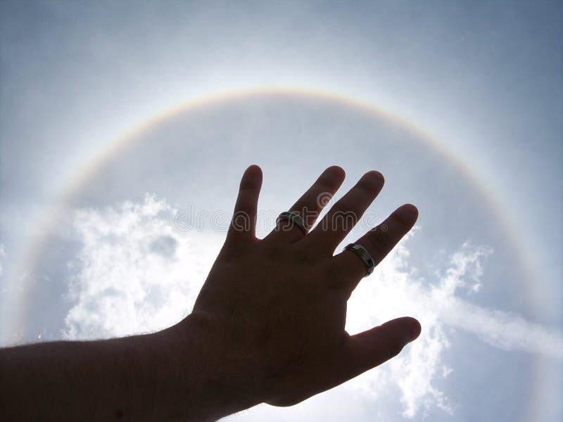 ήλιος φωτοστεφάνου στοκ φωτογραφία με δικαίωμα ελεύθερης χρήσης