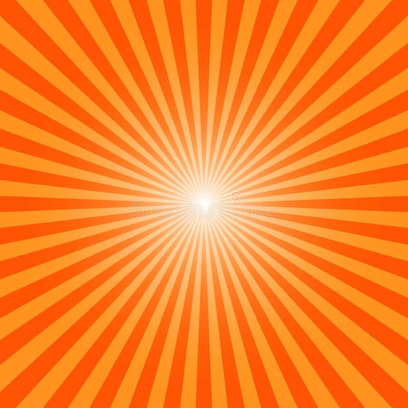 Ήλιος Ray Burst ελεύθερη απεικόνιση δικαιώματος