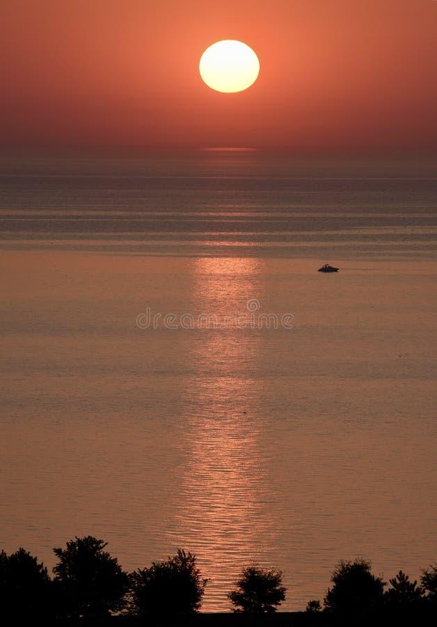Ήλιος Risng στοκ εικόνα με δικαίωμα ελεύθερης χρήσης