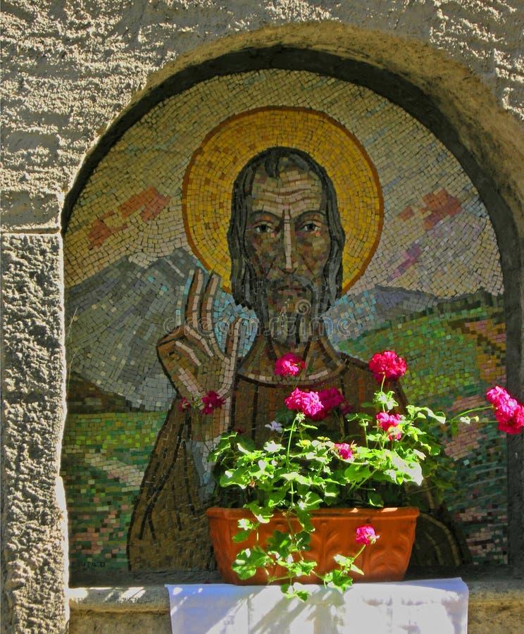 ήλιος tuscan τέχνης κάτω στοκ φωτογραφία με δικαίωμα ελεύθερης χρήσης