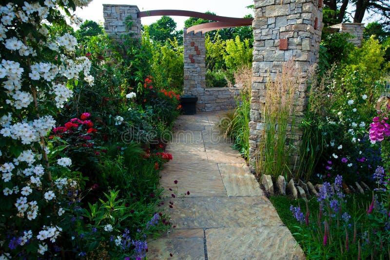 Ήρεμος κήπος στοκ φωτογραφίες