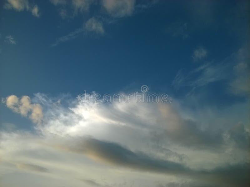 ήρεμος ουρανός στοκ εικόνες
