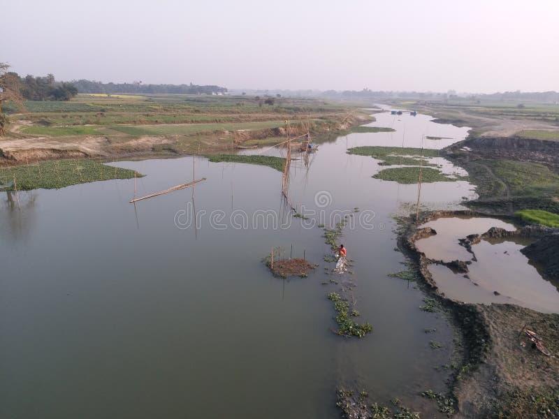 Ήρεμος ποταμός στοκ φωτογραφία