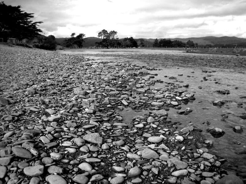 Ήρεμος ποταμός Stoney στοκ εικόνα με δικαίωμα ελεύθερης χρήσης