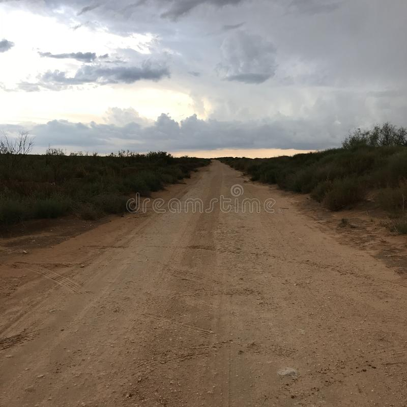Ήρεμο δυτικό Τέξας στοκ εικόνες με δικαίωμα ελεύθερης χρήσης
