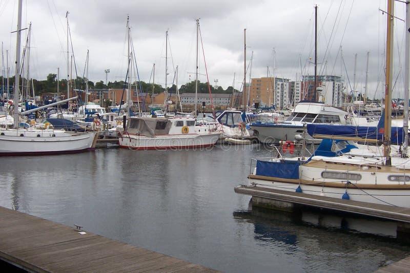 Ήρεμο λιμάνι στην Αγγλία στοκ εικόνα