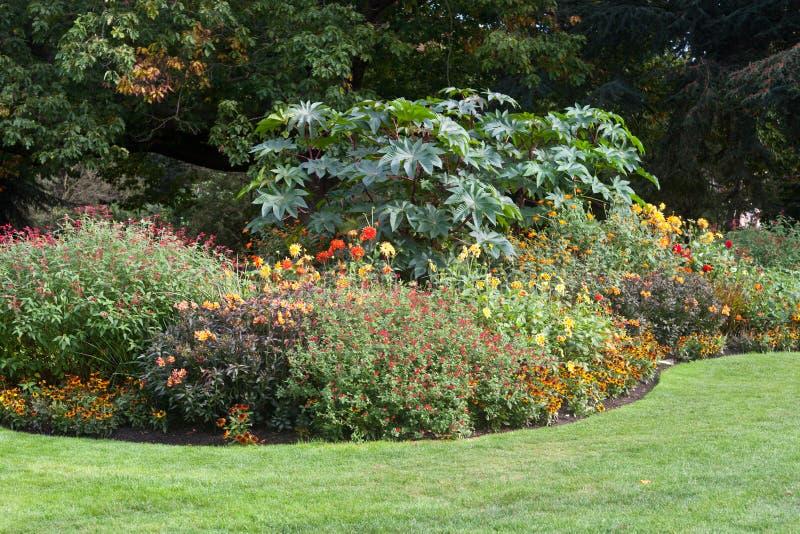 Ήρεμο τοπίο κήπων στοκ φωτογραφία με δικαίωμα ελεύθερης χρήσης