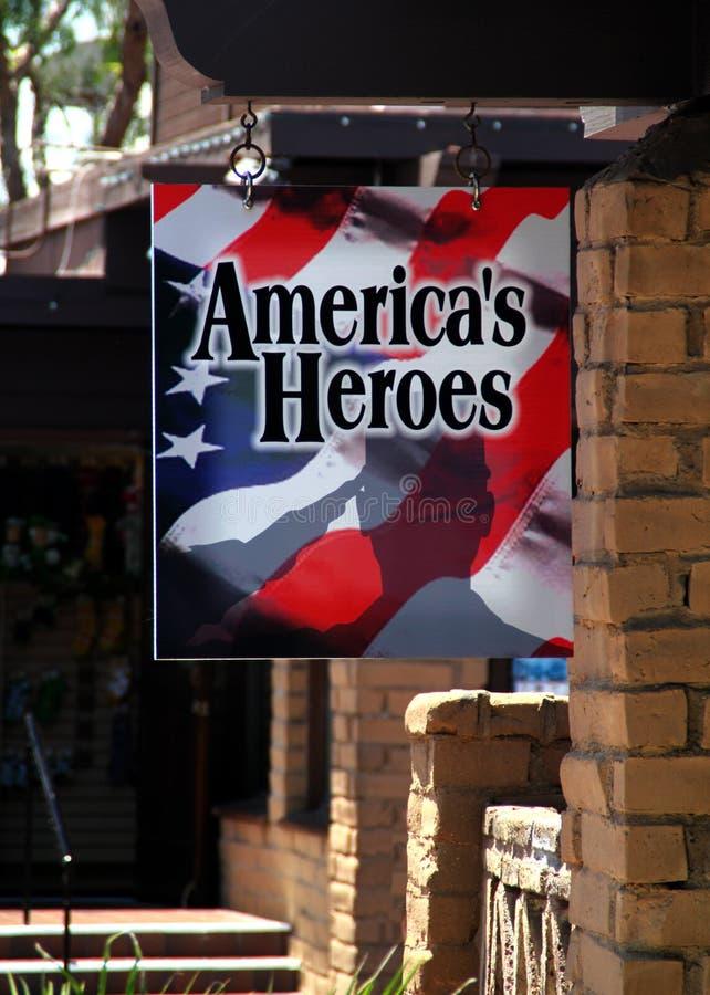 Ήρωες της ευπρόσδεκτης εγχώριας Αμερικής! στοκ εικόνες με δικαίωμα ελεύθερης χρήσης