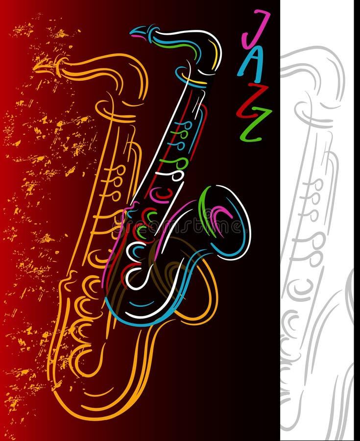 ήχος τζαζ ελεύθερη απεικόνιση δικαιώματος