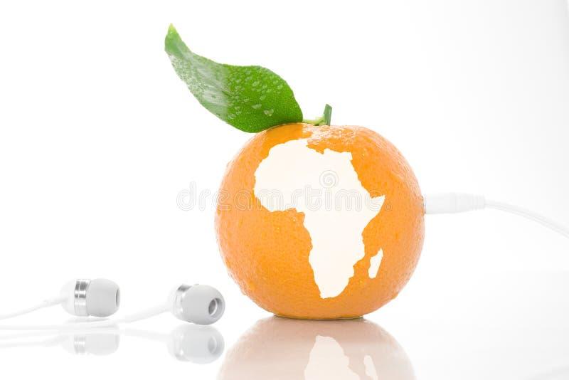 ήχος της Αφρικής στοκ εικόνα με δικαίωμα ελεύθερης χρήσης