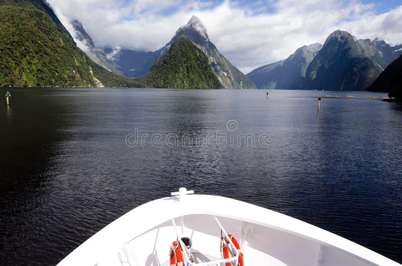 Ήχος Milford - Νέα Ζηλανδία στοκ εικόνα