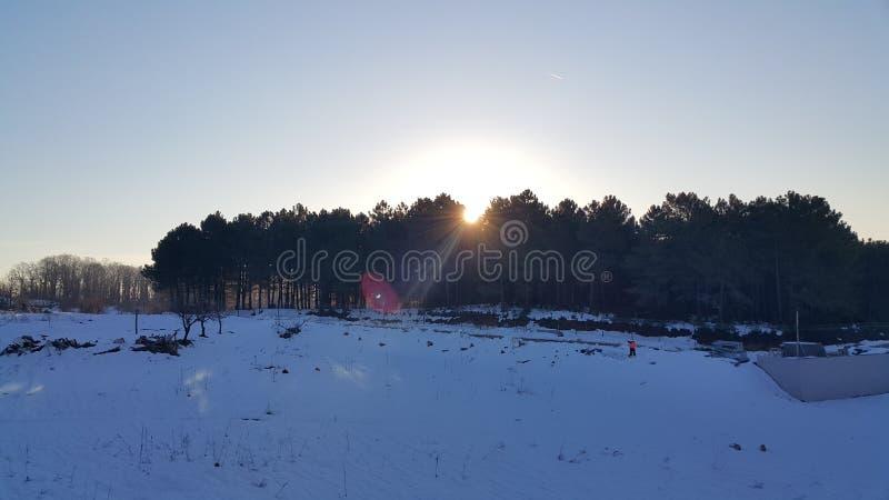 Ήλιος αύξησης στοκ φωτογραφίες με δικαίωμα ελεύθερης χρήσης