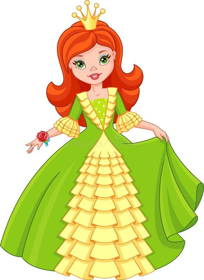 λίγη πριγκήπισσα απεικόνιση αποθεμάτων