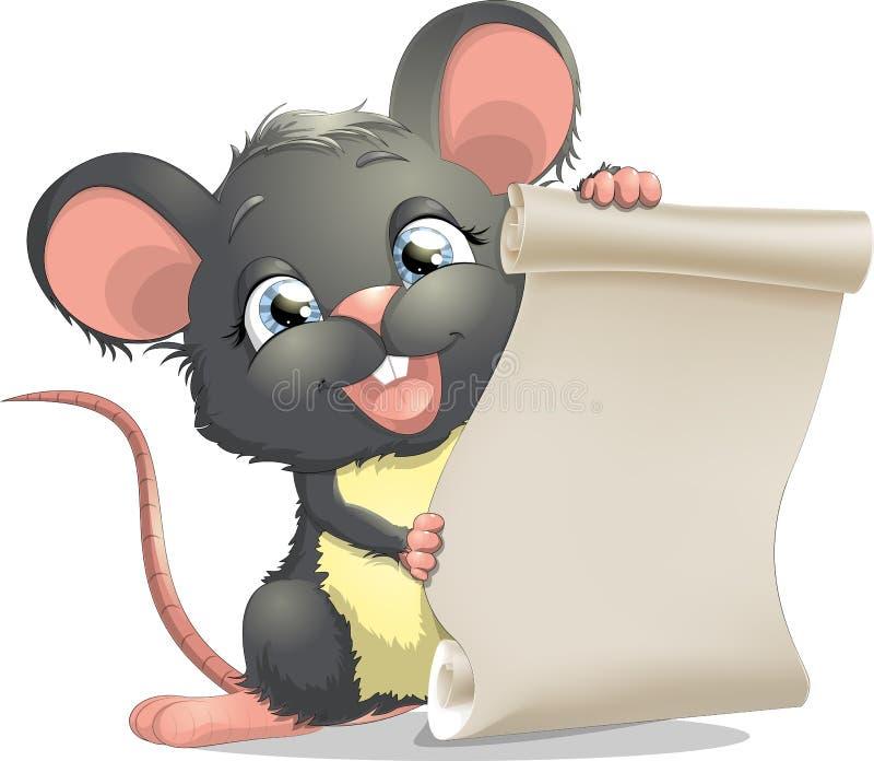 λίγο ποντίκι ελεύθερη απεικόνιση δικαιώματος