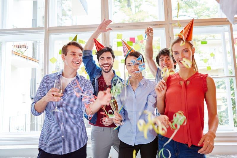 Ίδρυμα εορτασμού ξεκινήματος στοκ εικόνα