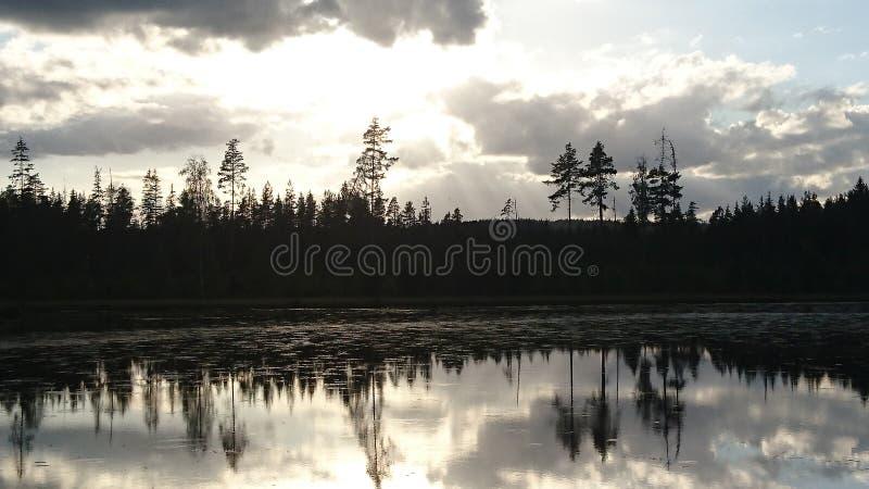 λίμνη Σουηδία στοκ εικόνες με δικαίωμα ελεύθερης χρήσης