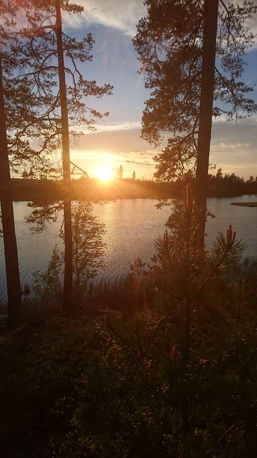 λίμνη Σουηδία στοκ εικόνες