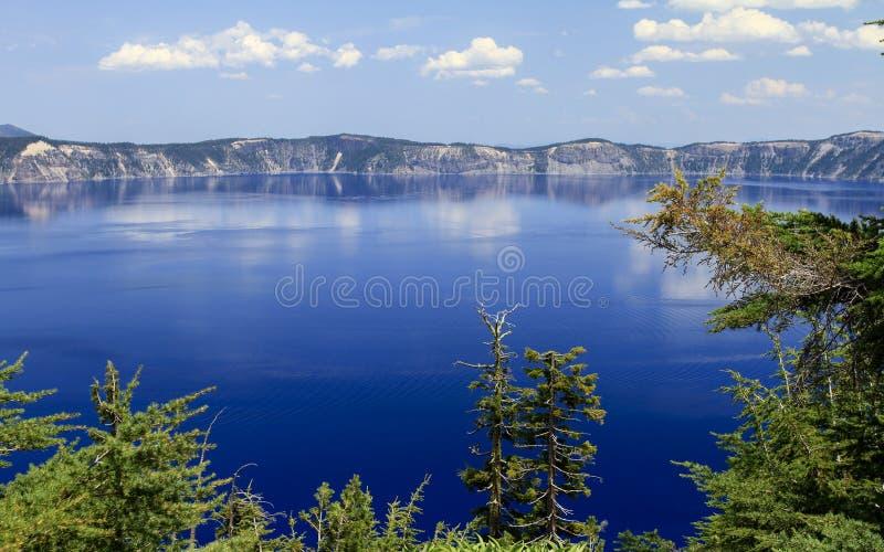 λίμνη Όρεγκον ΗΠΑ 2008 κρατήρων στοκ φωτογραφία