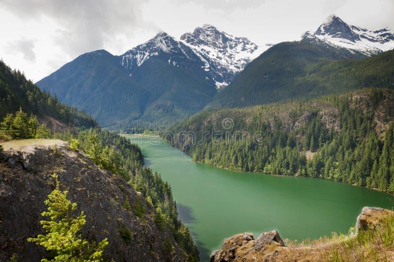 λίμνη diablo στοκ εικόνες με δικαίωμα ελεύθερης χρήσης