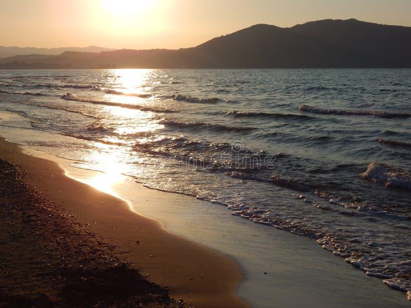 λίμνη kournas της Κρήτης στοκ εικόνες