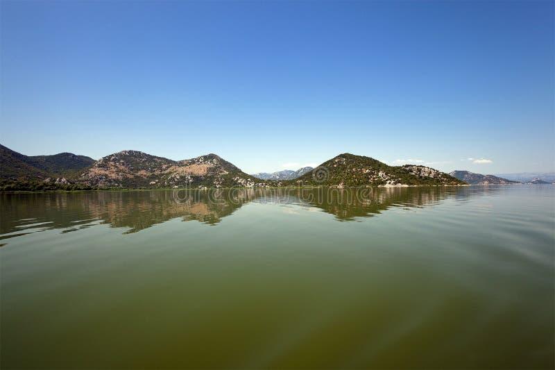 λίμνη skadar Μαυροβούνιο στοκ φωτογραφίες