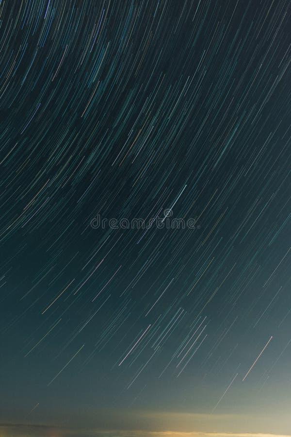 Ίχνη αστεριών παραλιών στη Μελβούρνη στοκ εικόνες με δικαίωμα ελεύθερης χρήσης
