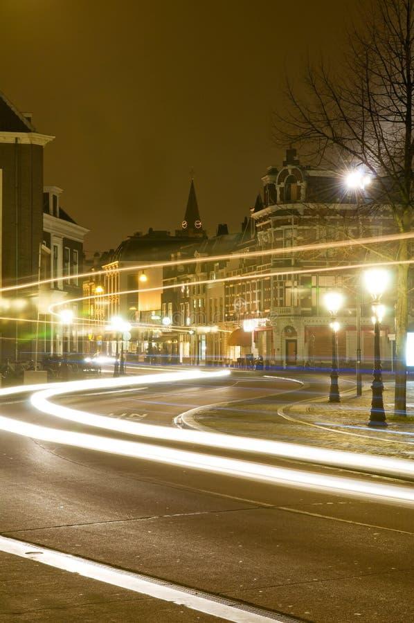 Ίχνη ενός διαδρόμου στην Ουτρέχτη, Κάτω Χώρες στοκ φωτογραφίες με δικαίωμα ελεύθερης χρήσης