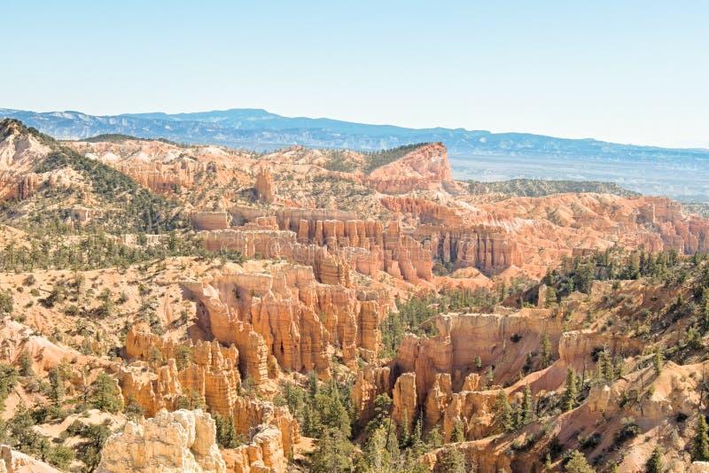 Ίχνος πλαισίων, εθνικό πάρκο φαραγγιών του Bryce, UT στοκ εικόνα