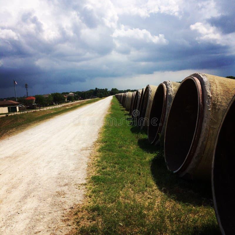 Ίχνος στο Fort Worth στοκ εικόνες
