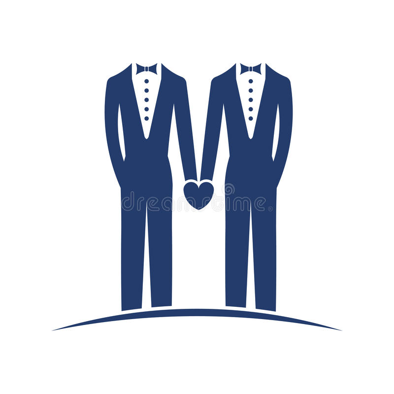 Ίδιος γάμος φύλων νομικός απεικόνιση αποθεμάτων