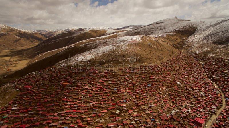 Ίδρυμα βουδισμού στο Θιβέτ στοκ εικόνα