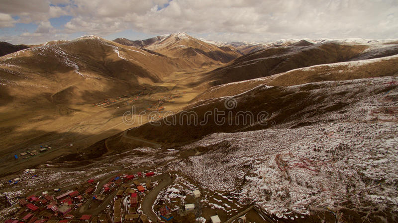 Ίδρυμα βουδισμού στο Θιβέτ στοκ εικόνες