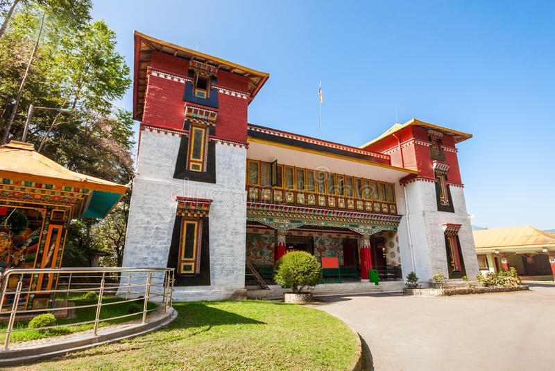 Ίδρυμα Tibetology Namgyal στοκ φωτογραφίες