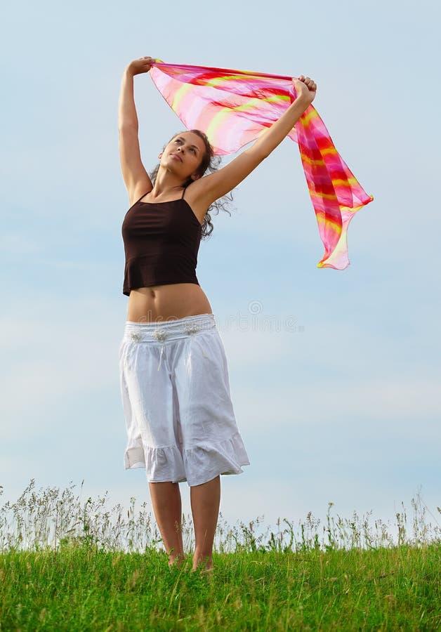 αέρας κοριτσιών στοκ εικόνα με δικαίωμα ελεύθερης χρήσης
