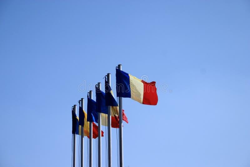 αέρας σημαιών στοκ φωτογραφίες