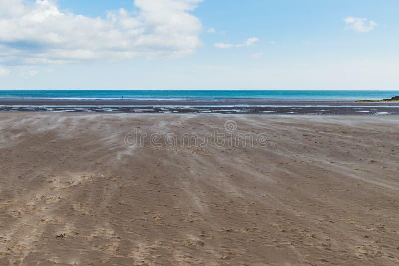 Αέρας στην παραλία θαλασσίως στοκ φωτογραφίες με δικαίωμα ελεύθερης χρήσης
