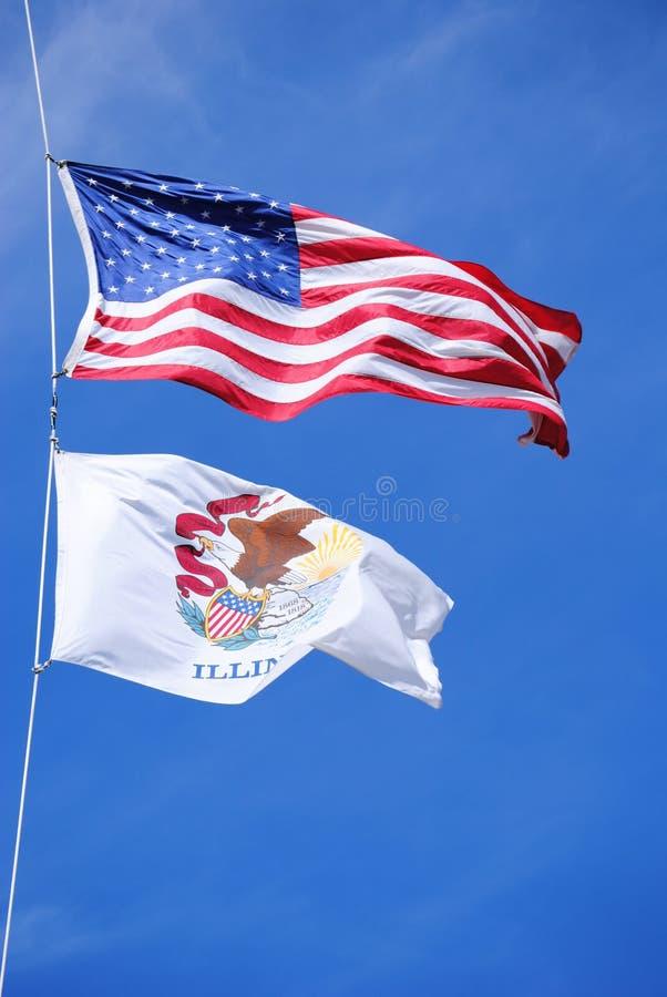 αέρας του Ιλλινόις ΗΠΑ ση στοκ φωτογραφία με δικαίωμα ελεύθερης χρήσης