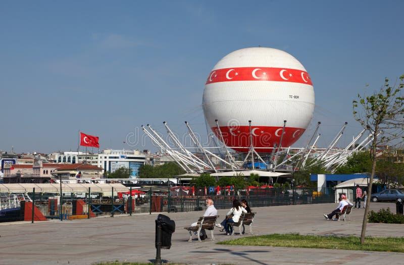 αέρας baloon καυτή Κωνσταντιν&omicron στοκ φωτογραφίες με δικαίωμα ελεύθερης χρήσης