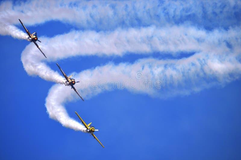 Αέρας show3 στοκ φωτογραφία με δικαίωμα ελεύθερης χρήσης